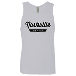 Heather Grey / S Nashville Nation Tank Top - The Nation Clothing