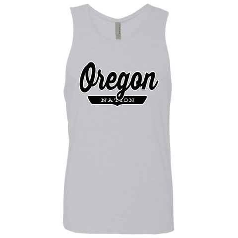 Heather Grey / S Oregon Tank Top - The Nation Clothing