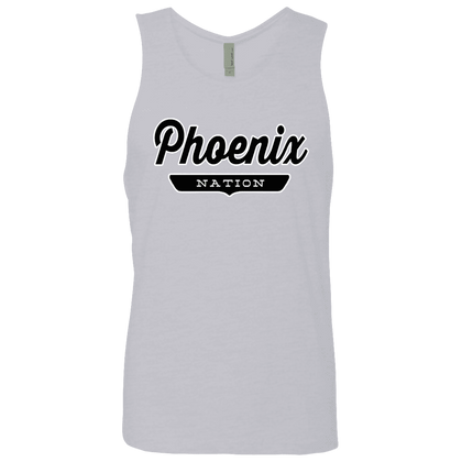 Heather Grey / S Phoenix Nation Tank Top - The Nation Clothing