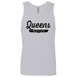 Heather Grey / S Queens Nation Tank Top - The Nation Clothing