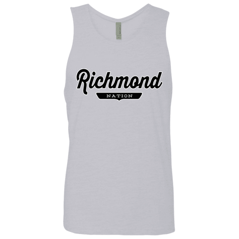 Heather Grey / S Richmond Nation Tank Top - The Nation Clothing