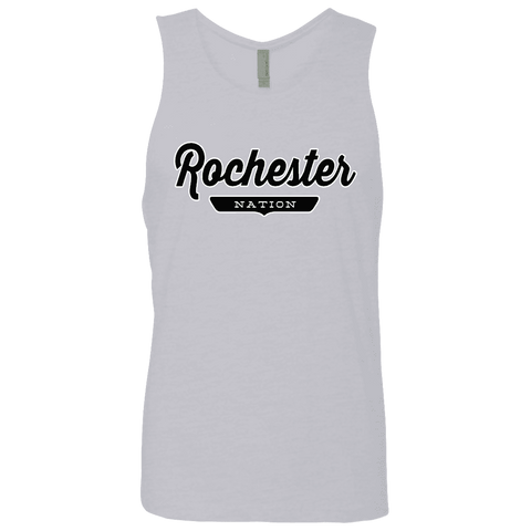 Heather Grey / S Rochester Nation Tank Top - The Nation Clothing