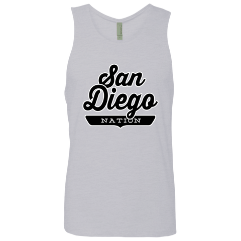 Heather Grey / S San Diego Nation Tank Top - The Nation Clothing