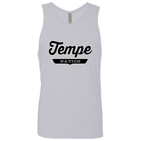 Heather Grey / S Tempe Nation Tank Top - The Nation Clothing