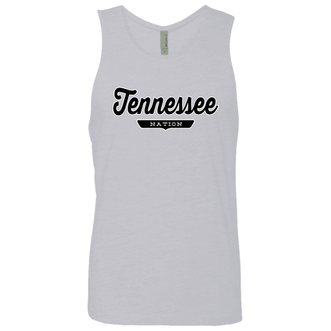 Heather Grey / S Tennessee Tank Top - The Nation Clothing