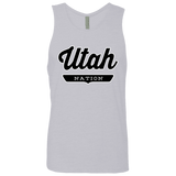 Heather Grey / S Utah Tank Top - The Nation Clothing