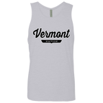 Heather Grey / S Vermont Nation Tank Top - The Nation Clothing