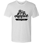 Heather White / S Big Apple T-shirt - The Nation Clothing