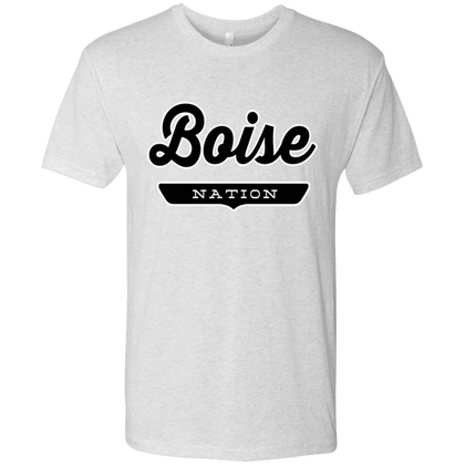 Heather White / S Boise Nation T-shirt - The Nation Clothing