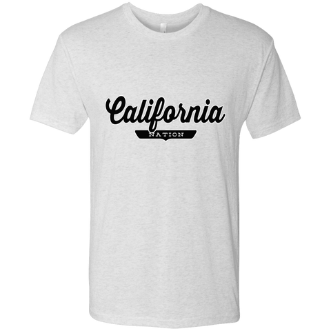 Heather White / S California Nation T-shirt - The Nation Clothing