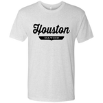 Heather White / S Houston Nation T-shirt - The Nation Clothing