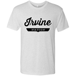 Heather White / S Irvine Nation T-shirt - The Nation Clothing