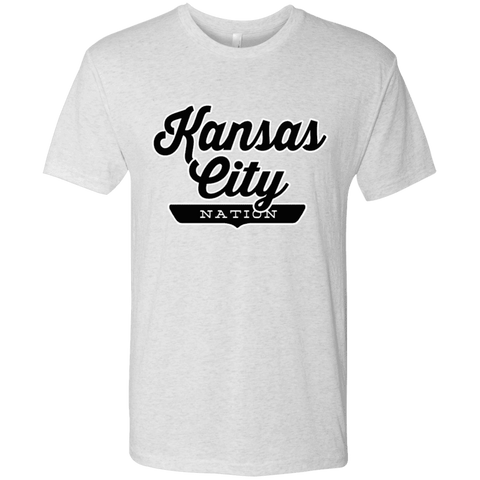Heather White / S Kansas City Nation T-shirt - The Nation Clothing