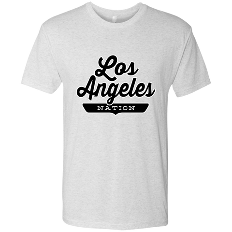 Heather White / S Los Angeles Nation T-shirt - The Nation Clothing