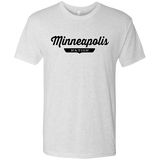 Heather White / S Minneapolis Nation T-shirt - The Nation Clothing