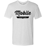 Heather White / S Mobile Nation T-shirt - The Nation Clothing