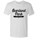 Heather White / S Overland Park Nation T-shirt - The Nation Clothing