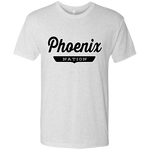 Heather White / S Phoenix Nation T-shirt - The Nation Clothing