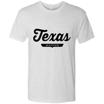 Heather White / S Texas Nation T-shirt - The Nation Clothing
