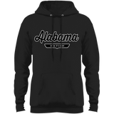 Jet Black / S Alabama Hoodie - The Nation Clothing
