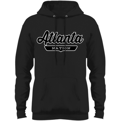 Jet Black / S Atlanta Hoodie - The Nation Clothing