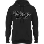Jet Black / S Chicago Hoodie - The Nation Clothing