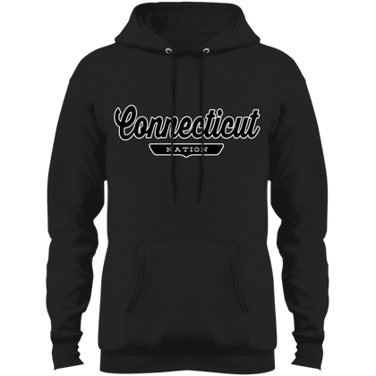 Jet Black / S Connecticut Hoodie - The Nation Clothing