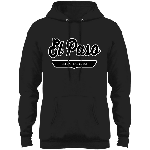 Jet Black / S El Paso Hoodie - The Nation Clothing