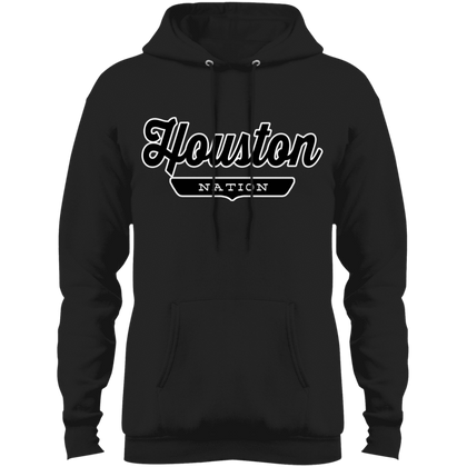 Jet Black / S Houston Hoodie - The Nation Clothing