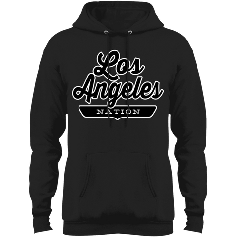 Jet Black / S Los Angeles Hoodie - The Nation Clothing