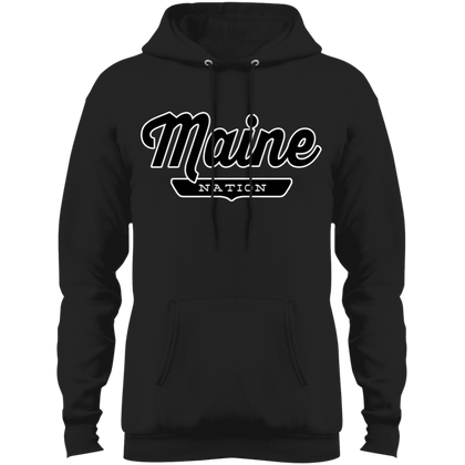 Jet Black / S Maine Hoodie - The Nation Clothing