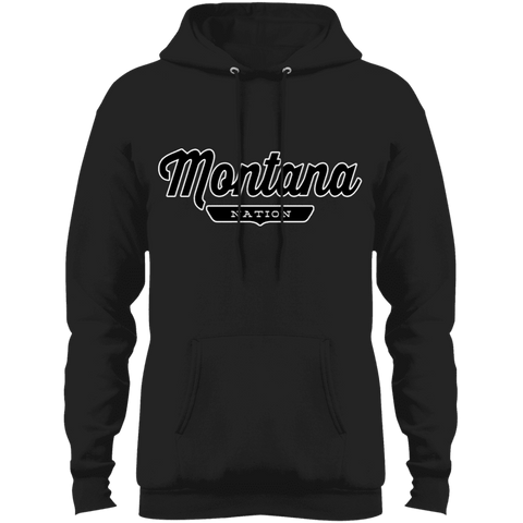 Jet Black / S Montana Hoodie - The Nation Clothing