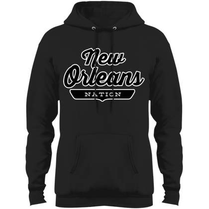 Jet Black / S New Orleans Hoodie - The Nation Clothing