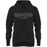 Jet Black / S New York City Nation Hoodie - The Nation Clothing