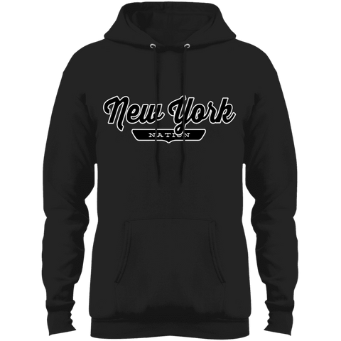 Jet Black / S New York State Hoodie - The Nation Clothing