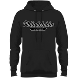 Jet Black / S Philadelphia Hoodie - The Nation Clothing