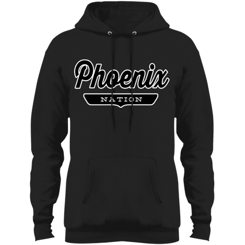 Jet Black / S Phoenix Hoodie - The Nation Clothing