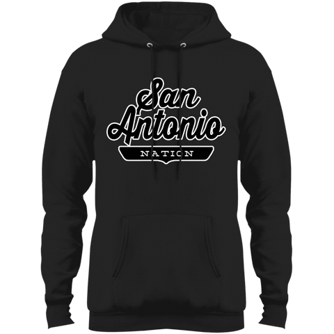 Jet Black / S San Antonio Hoodie - The Nation Clothing