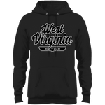 Jet Black / S West Virginia Nation Hoodie - The Nation Clothing