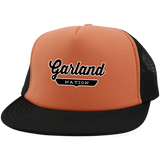 Neon Orange/Black / One Size Garland Nation Trucker Hat with Snapback - The Nation Clothing