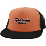 Neon Orange/Black / One Size Knoxville Nation Trucker Hat with Snapback - The Nation Clothing
