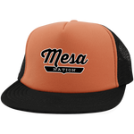 Neon Orange/Black / One Size Mesa Nation Trucker Hat with Snapback - The Nation Clothing