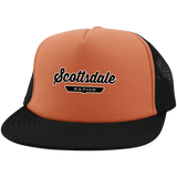 Neon Orange/Black / One Size Scottsdale Nation Trucker Hat with Snapback - The Nation Clothing