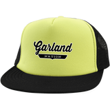 Neon Yellow/Black / One Size Garland Nation Trucker Hat with Snapback - The Nation Clothing