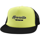 Neon Yellow/Black / One Size Knoxville Nation Trucker Hat with Snapback - The Nation Clothing