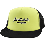 Neon Yellow/Black / One Size Scottsdale Nation Trucker Hat with Snapback - The Nation Clothing