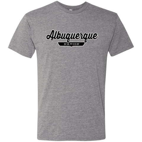 Premium Heather / S Albuquerque Nation T-shirt - The Nation Clothing