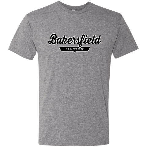 Premium Heather / S Bakersfield Nation T-shirt - The Nation Clothing
