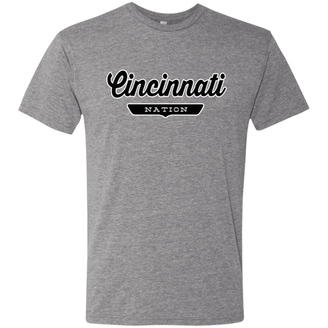 Premium Heather / S Cincinnati Nation T-shirt - The Nation Clothing