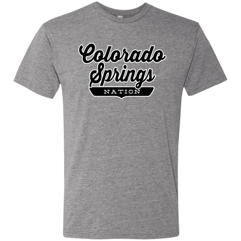 Premium Heather / S Colorado Springs Nation T-shirt - The Nation Clothing